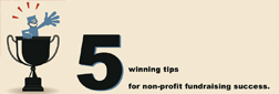 Five winning tips for non-profit fundraising success