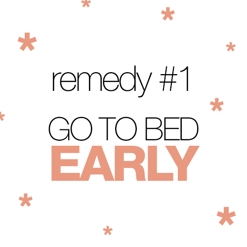 Remedies for the Back To School Blues: Go to bed!