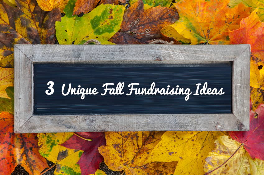 3 Unique Fundraising Ideas to Try This Fall