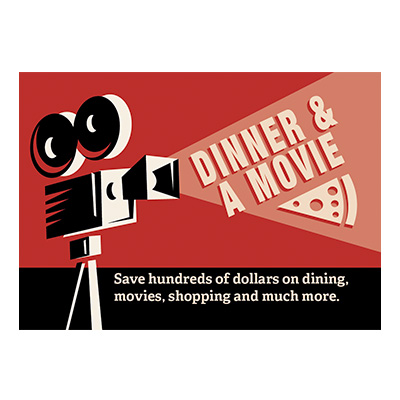 Dinner and Movie Card